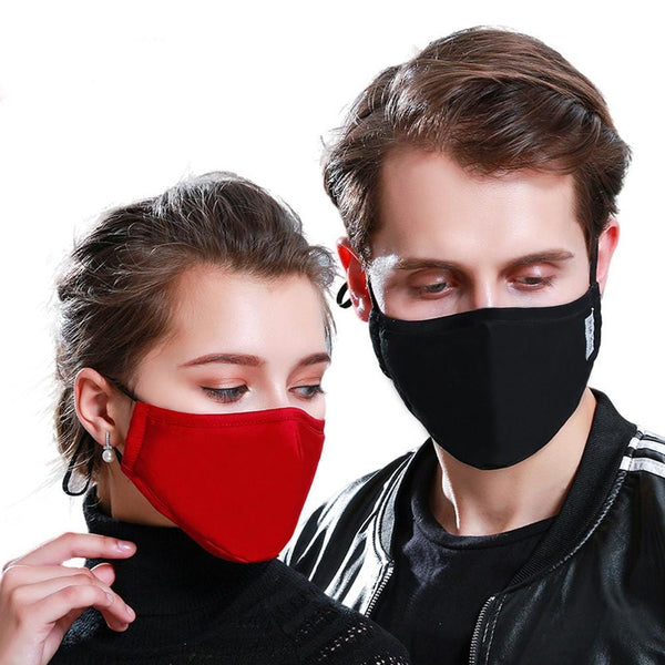 Cotton Carbon Filter Face Mask