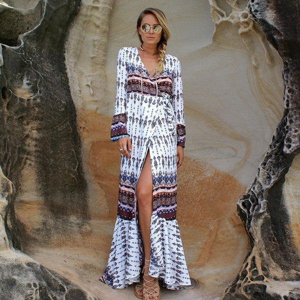 Alicia's Bohemia Beach Dress
