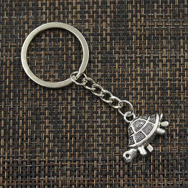Longevity and Luck Turtle Keychain