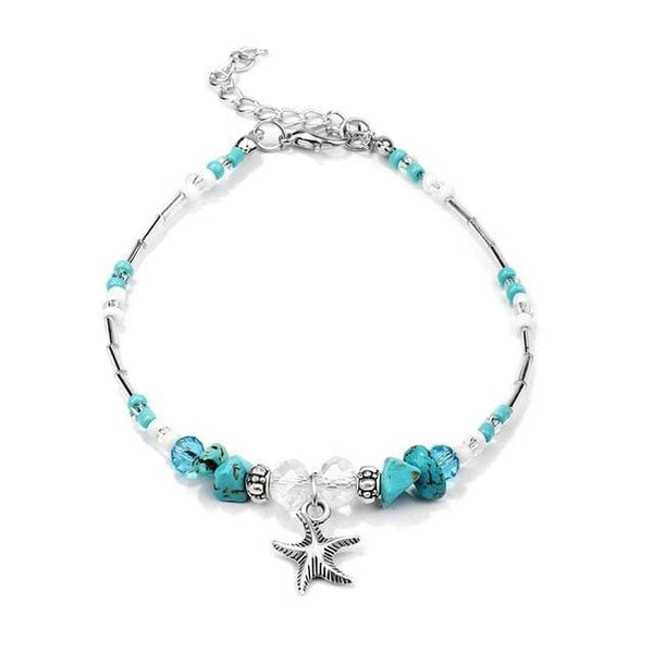 Starfish and Joy Anklet
