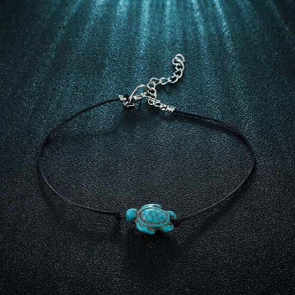 Lucky Fortune Turtle Anklets