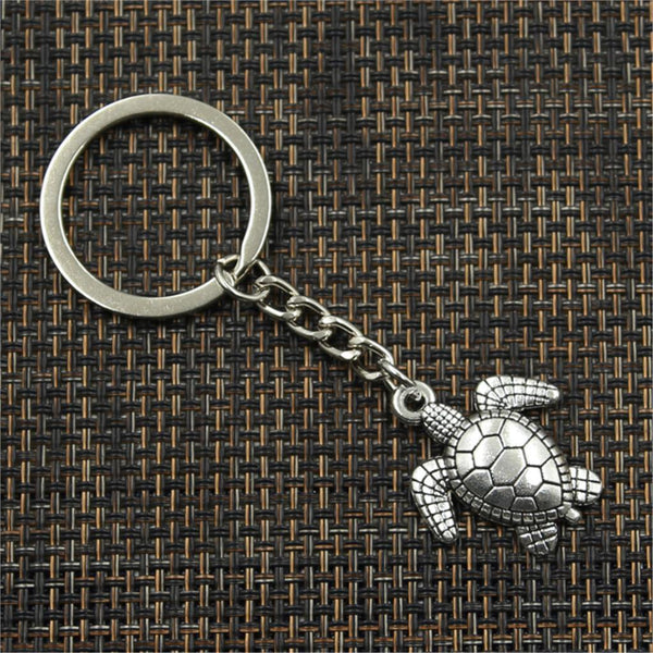 Good Health Long Life Turtle Keychain