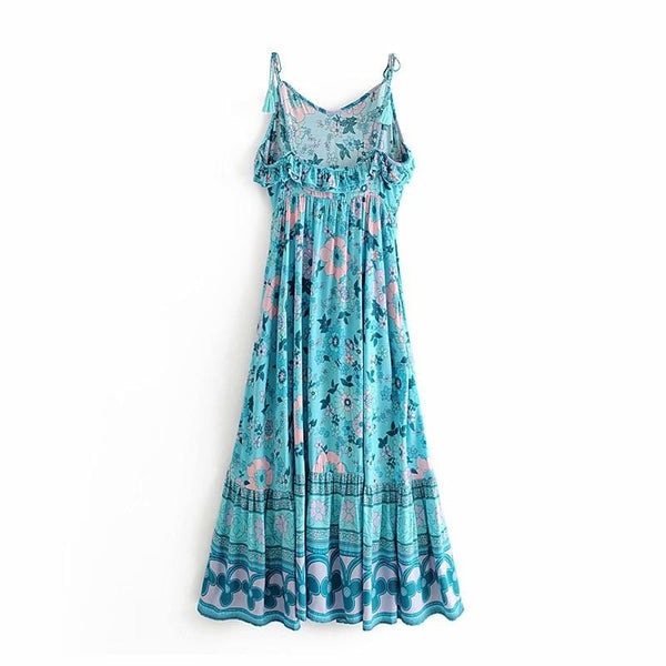 Abigail's Boho Long Dress