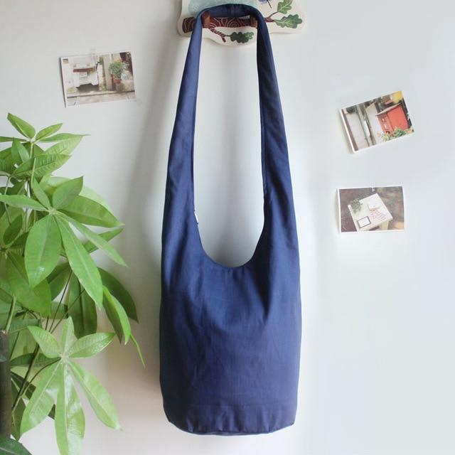 Tinley's Cotton Shoulder Bag