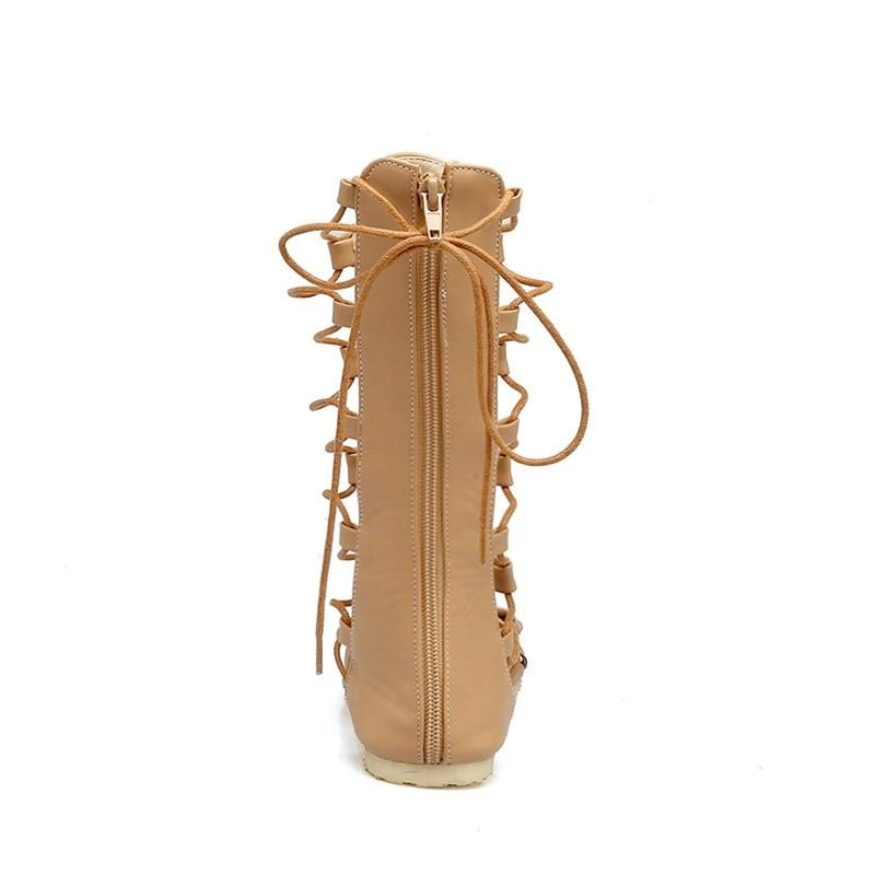 Raina's Knee High Gladiator Sandal