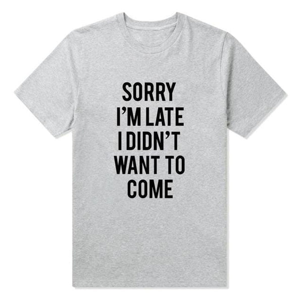 Emma's Sorry I'm Late T-Shirt