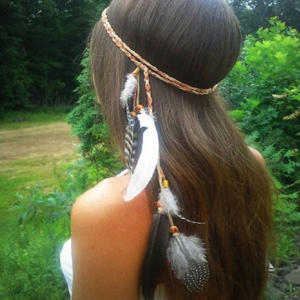Aurelia's Indian Feather Headband