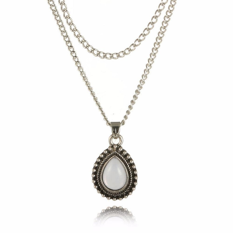 Jaylene's Water Drop Crystal Necklace