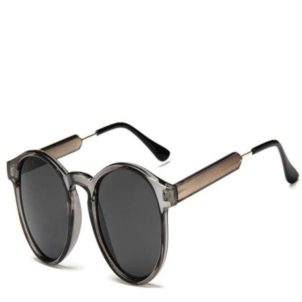Giana's Retro Round Sunglasses