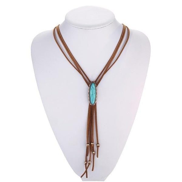 Aliza's Boho Lariat Necklace
