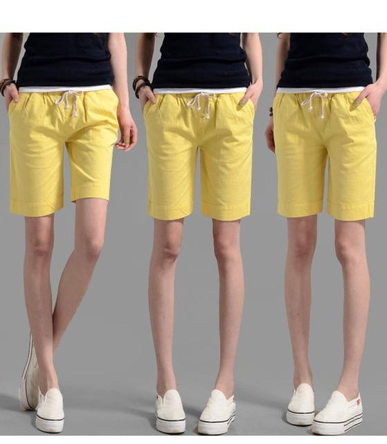 Emberly's Casual Hot Linen Shorts
