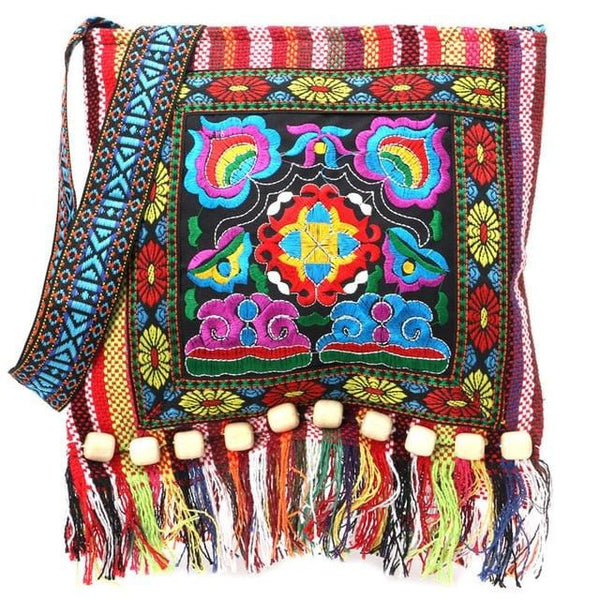 Corinne's Embroidered Stylish Bag