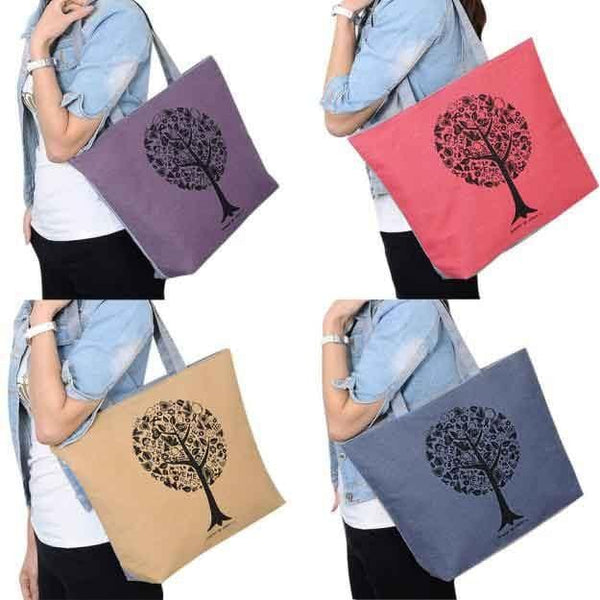 Joyce's Tote Canvas Bag