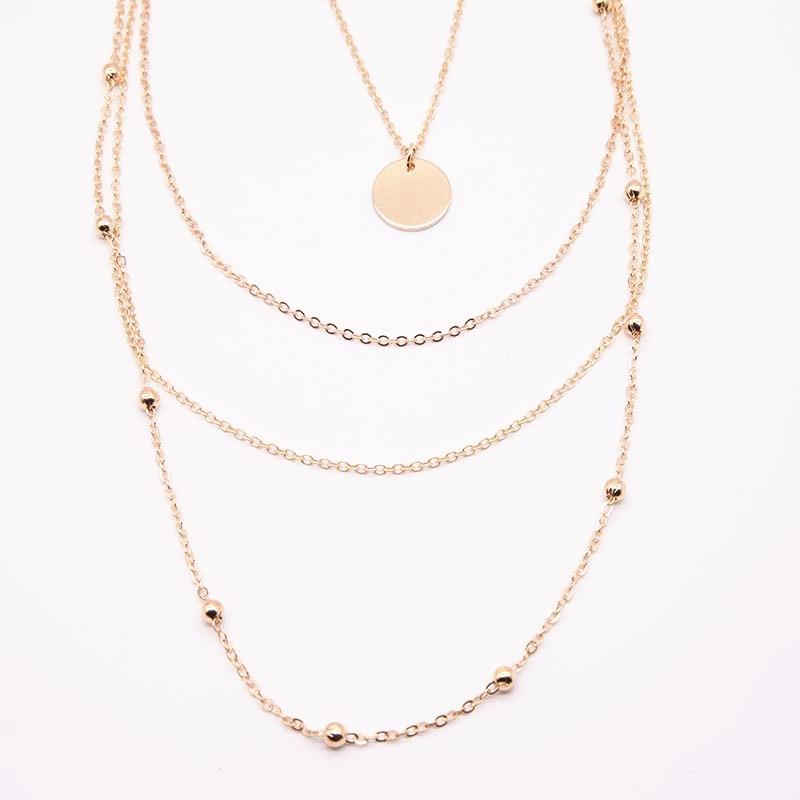 Ayleen's multi layer necklace