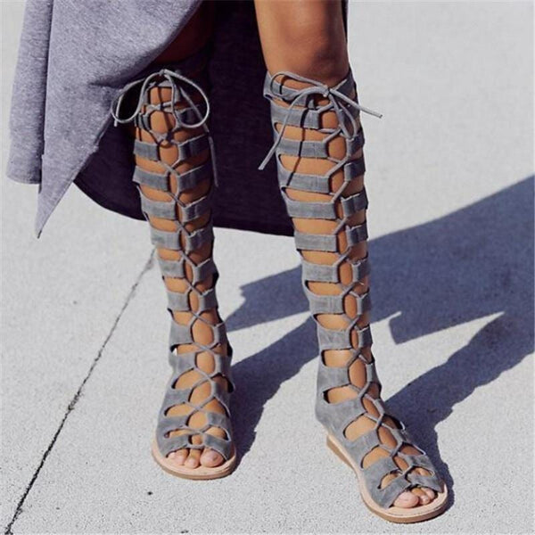 Christine's Boho Cross Tied Boot