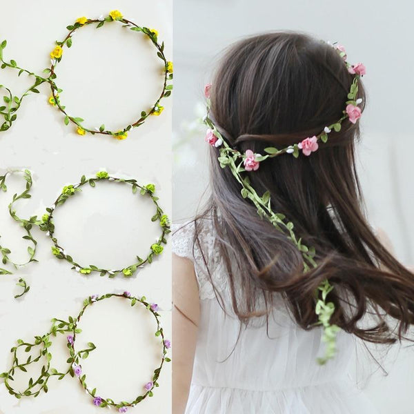 Clarissa's Flower Garland Headband