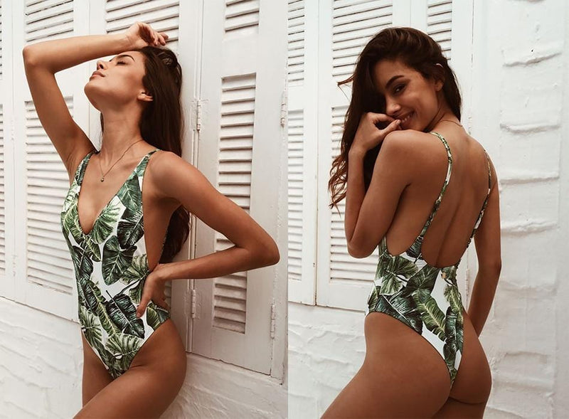 Katie's Backless Swimsuit