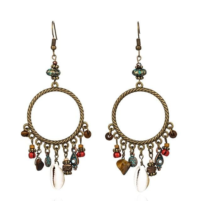 Lizabeth's Vintage Bohemian Earrings