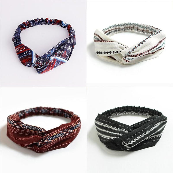 Royal's Ethnic Elastic Headbands