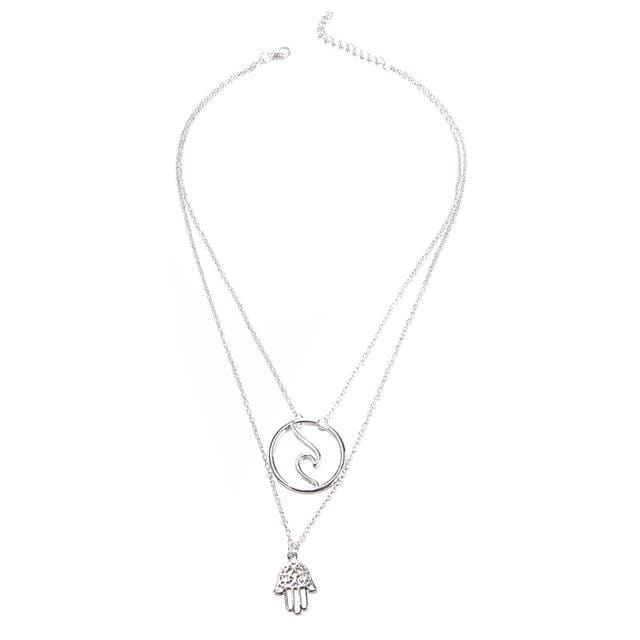 Sky's Moon Pendant Necklaces
