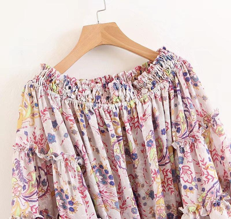 Sawyer's Off Shoulder Blouse Top