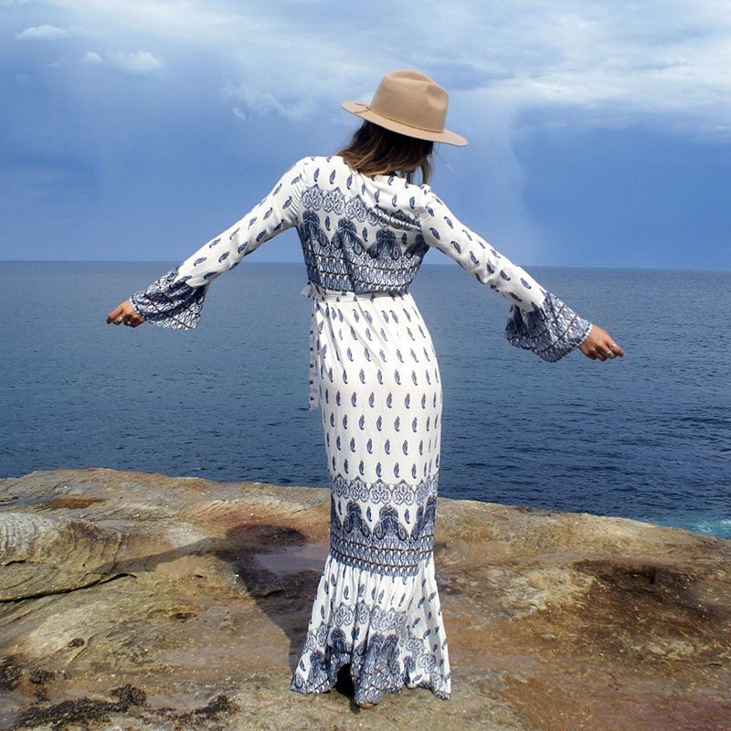 Maddison's Boho Pattern Long Dress