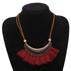 Joselyn's Velvet Chain Necklace
