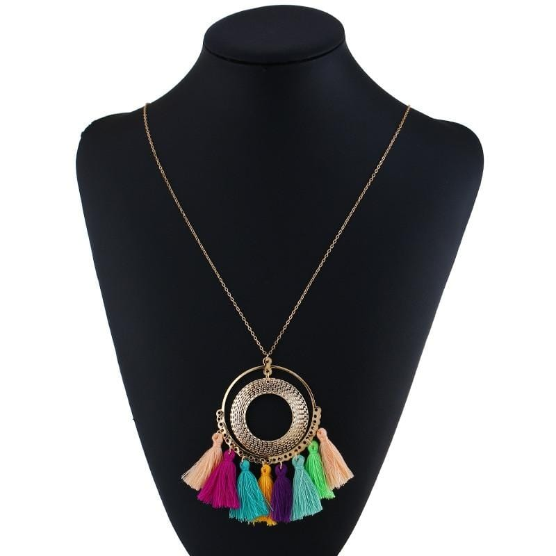 Dalary's Colorful Vintage Necklace