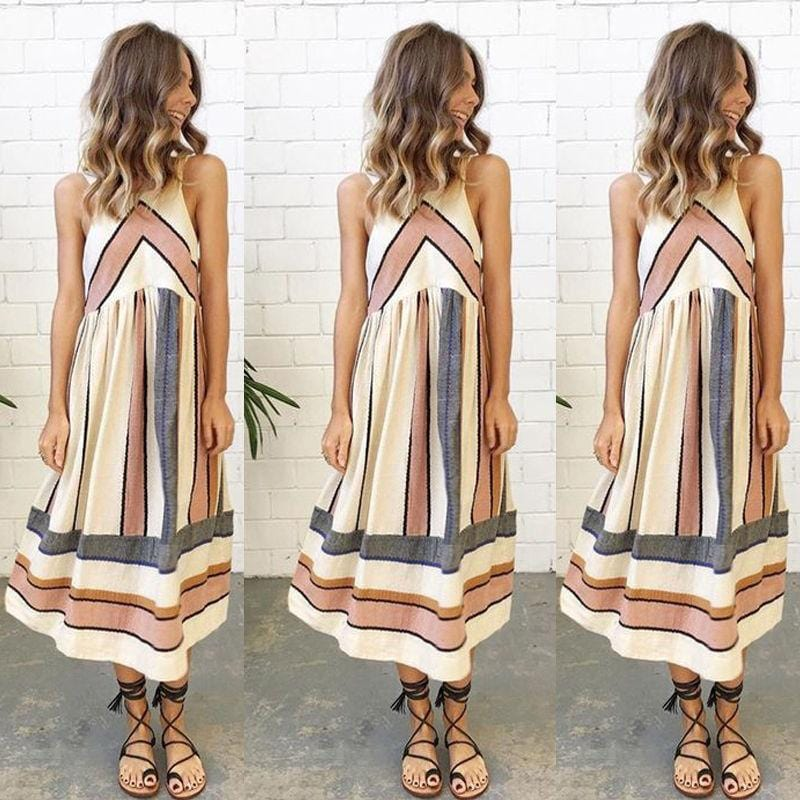 Janessa's Long Midi Dress