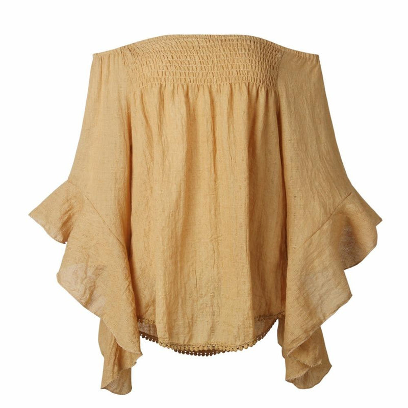 Aliyah's Boho Off Shoulder Blouse
