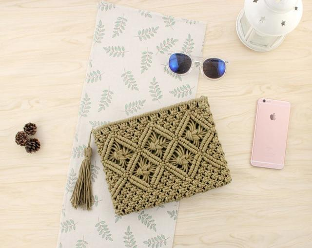 Aliana's Hemp Clutch
