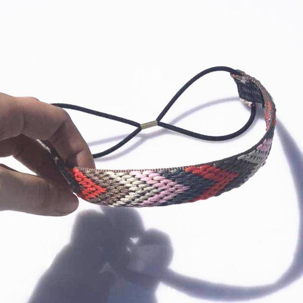 Liv's Embroidery Rubber Headband