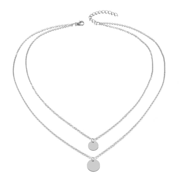 Giovanna's Round Pendant Necklace