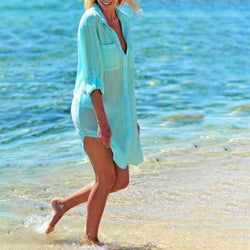 Kendall's Cover Up Robe Shirt