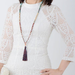 Ellie's Long Tassel Necklace