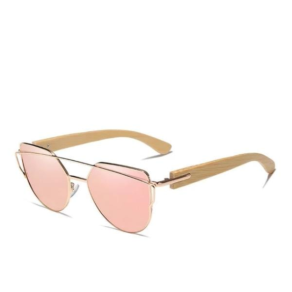 Giovanna's Bamboo Wood Sunglasses