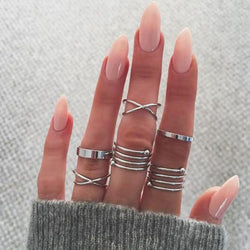 Elisa's Vintage Joint Knuckle Rings