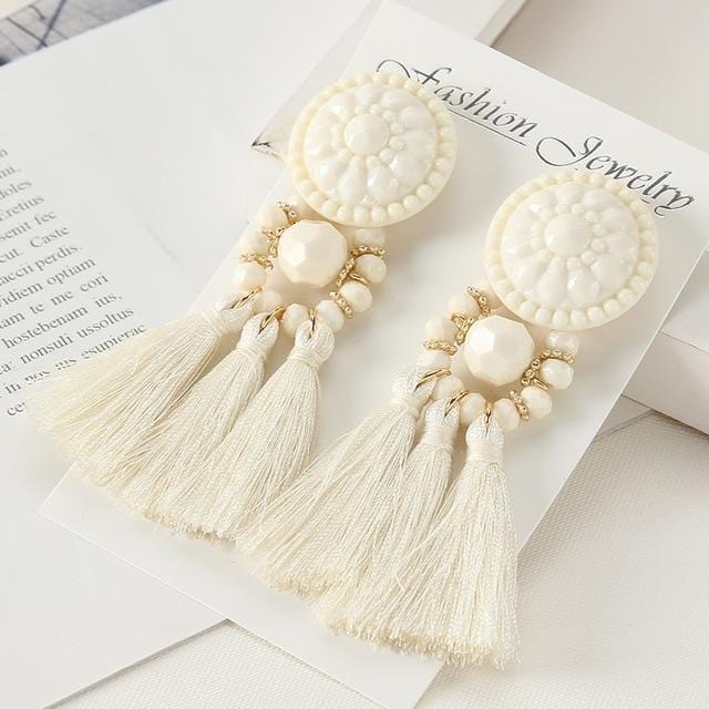 Nataly's Boho Tassel Earrings