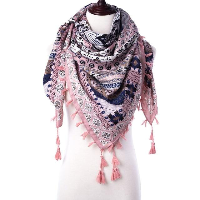 Bryanna's Floral Print Scarf