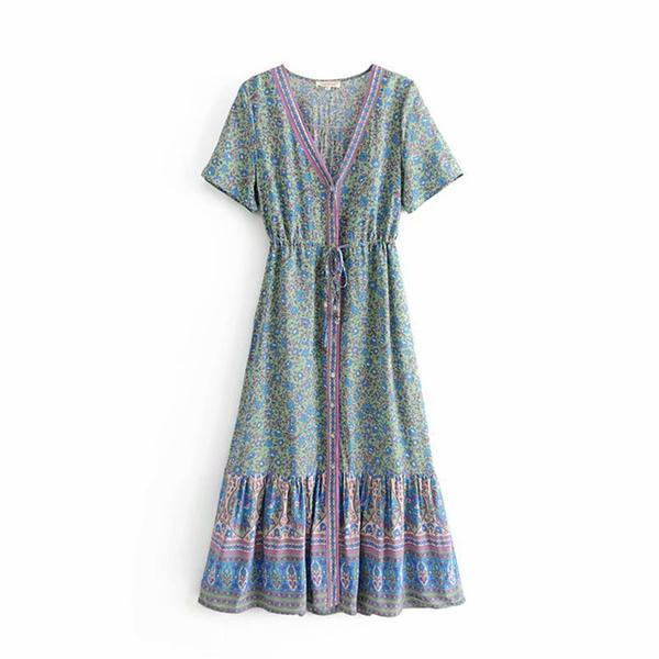 Adelyn's Hippie Long Dress