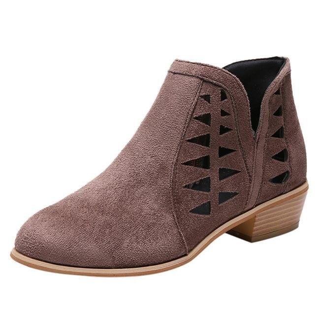 Aliyah's Casual Ankle Boot
