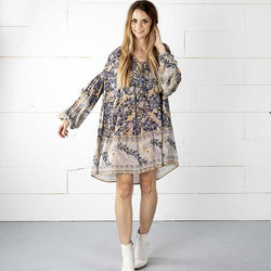 Elliot's V-Neck Boho Dress