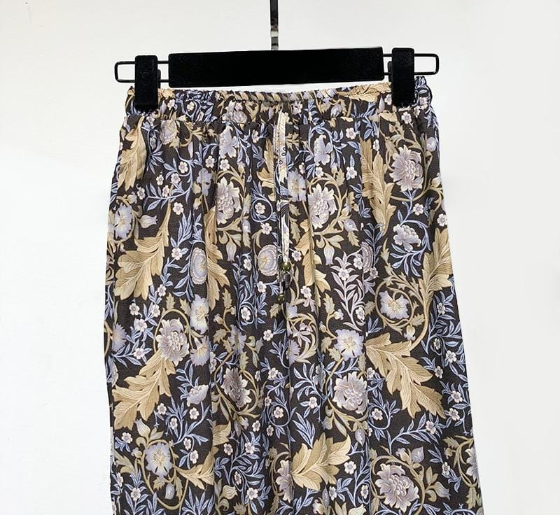 Destiny's Floral Straight Pants