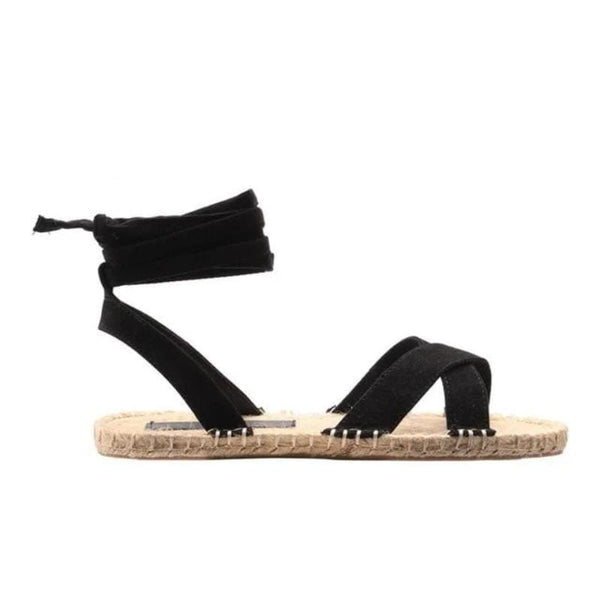 Whitley's Ankle Strap Hemp Sandals