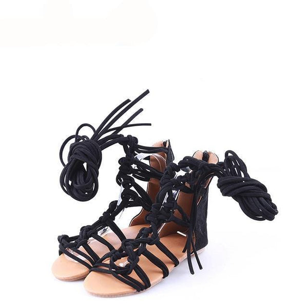 Estella's Cross-Tie Gladiator Sandal