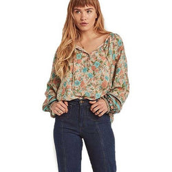 Ailani's V-Neck Boho Beach Blouse