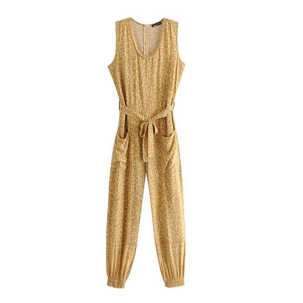 Jocelyn's Sleeveless V-Neck Jumpsuit