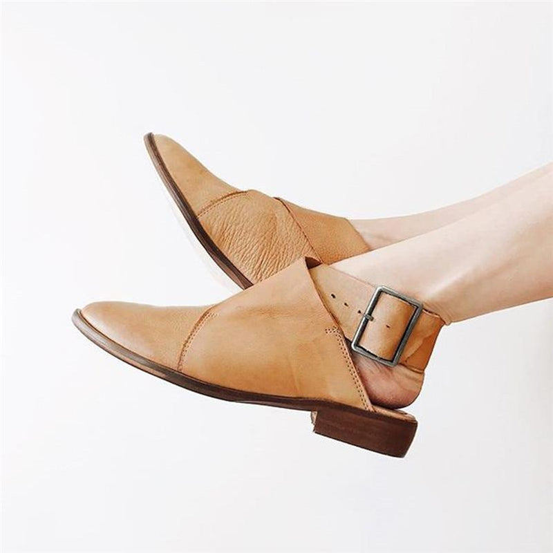Landry's Pointed Buckle Strap Sandal