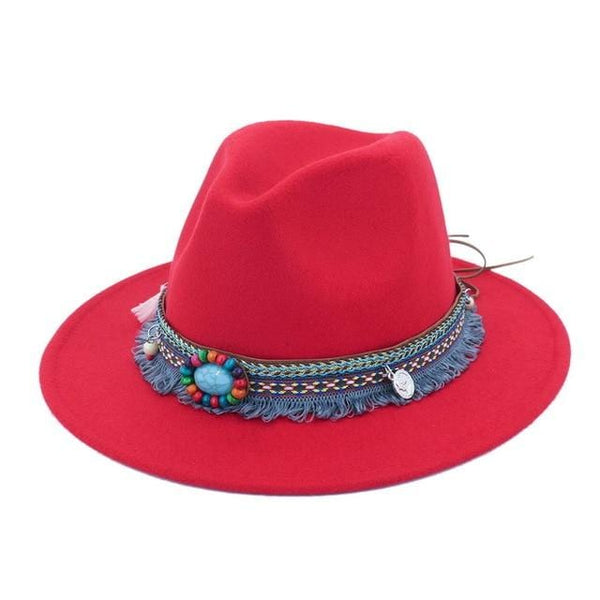 Marissa's Wide Brim Straw Hat