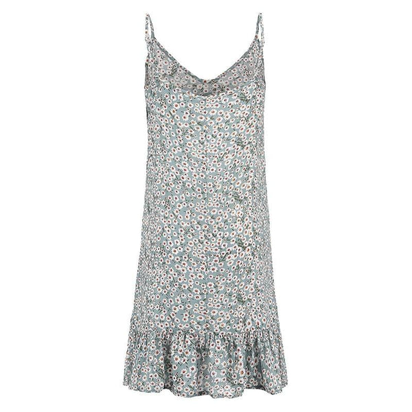 Spencer's Floral Print Mini Dress